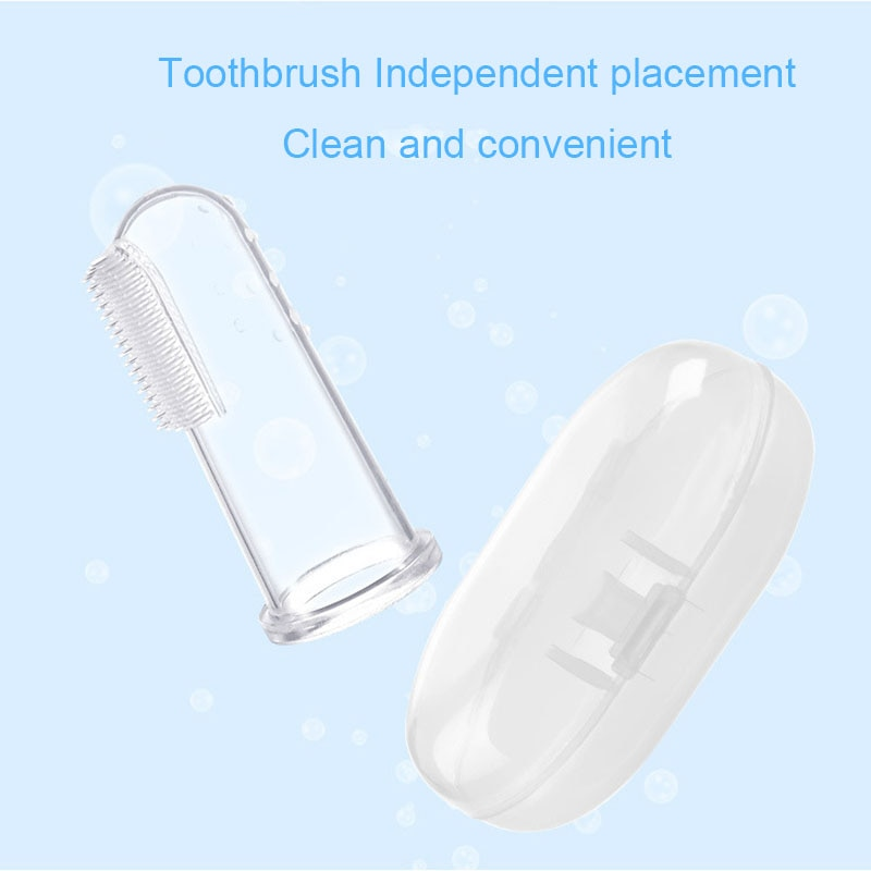 7Pcs/set Multifunction Baby Healthcare Kit Newborn Kids Care Set Baby Medicine Feeder Pacifier Toothbrush Spoon for Baby Care