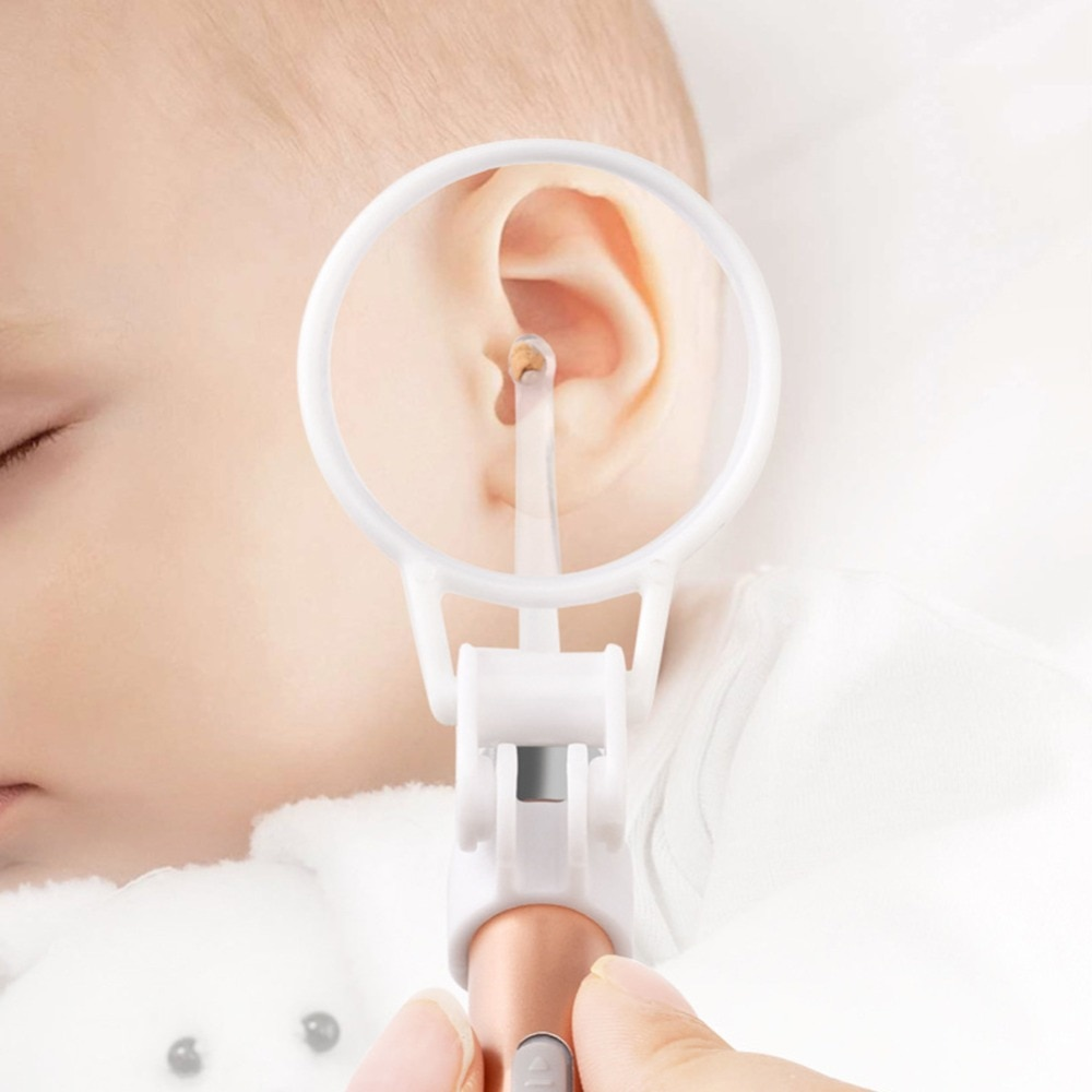 3 Times Magnifying Glass Portable Children's Shining Ear Pick Ears Dig Earwax Auxiliary