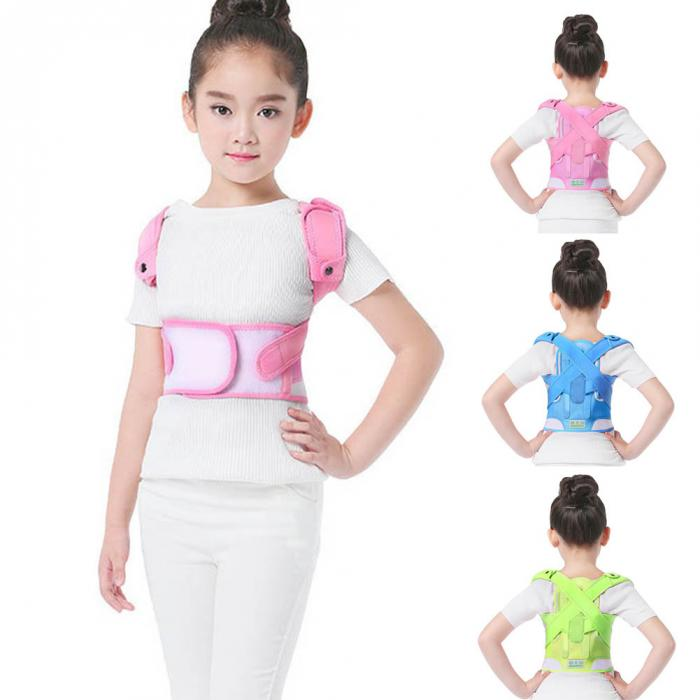 Posture Corrector Breathable durable comfortable Back Shoulder Lumbar Waist Supporting Correction Straighten Upper Children JD19