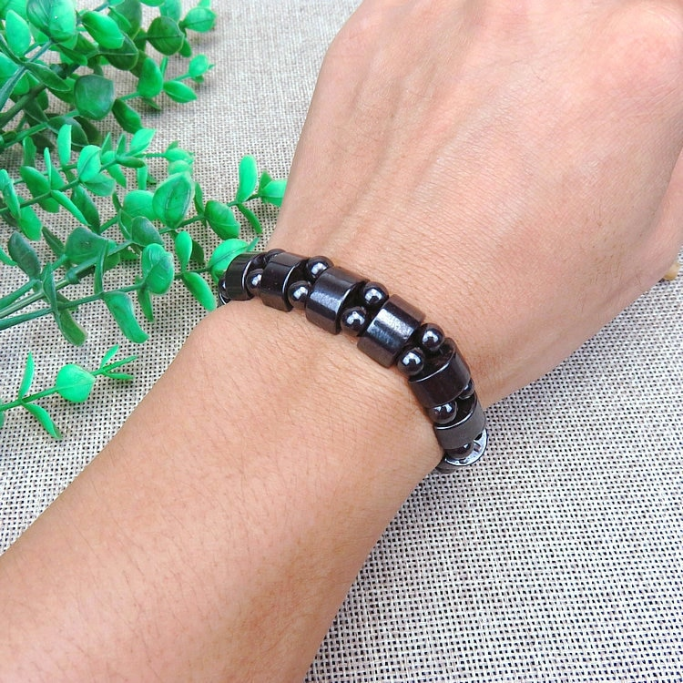 Loss Weight Effective Magnetic Therapy Bracelet Black Stone Weight Loss Adjustable Health Care Luxury Slimming Product