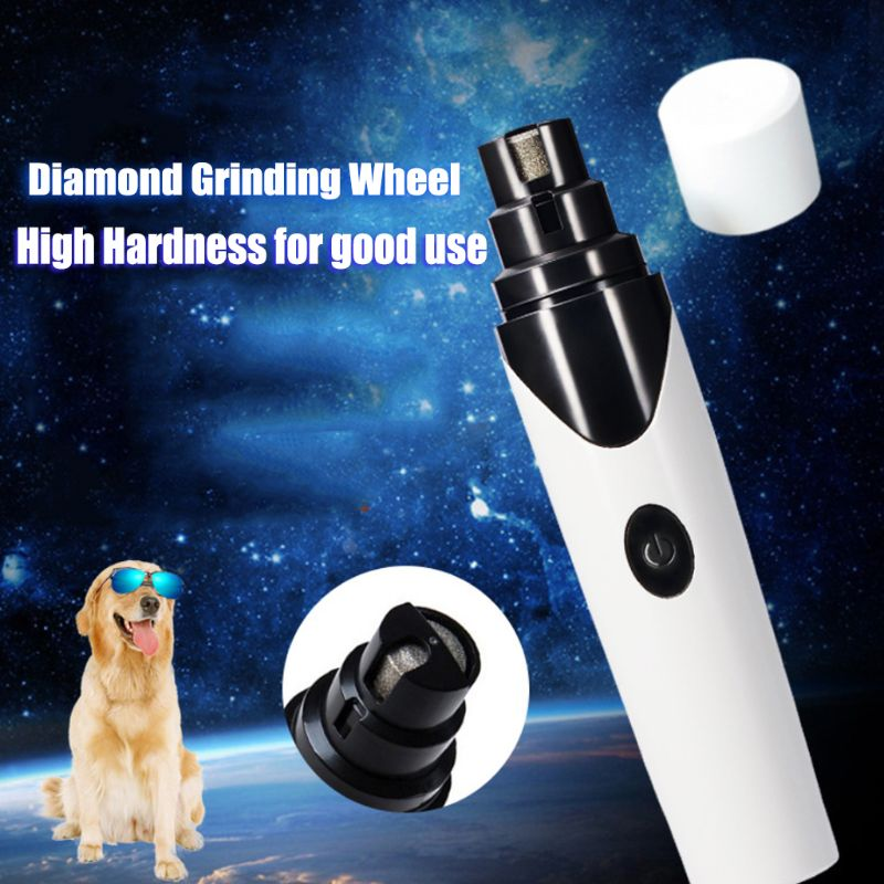 Pet USB Electric Nail Paws Grinder Trimmer Clipper Rechargeable Cat Dog Grooming Device