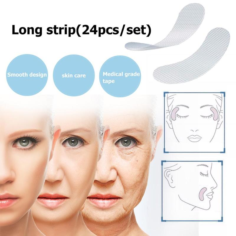 12/27/24 pcs/set Thin Face stickers EVA Forehead Anti-Wrinkle Patches Act on Facial Line Wrinkle Sagging Beauty Skin Lift Up