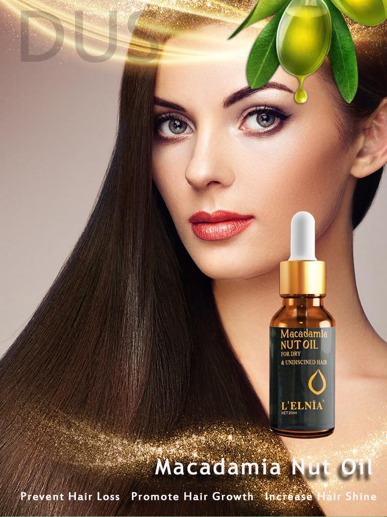 Argan Oil For Hair Care Treatment Essence Fast Powerful Hair Growth Liquid Hair Loss Products Serum Repair Keratine Herbal 20ml
