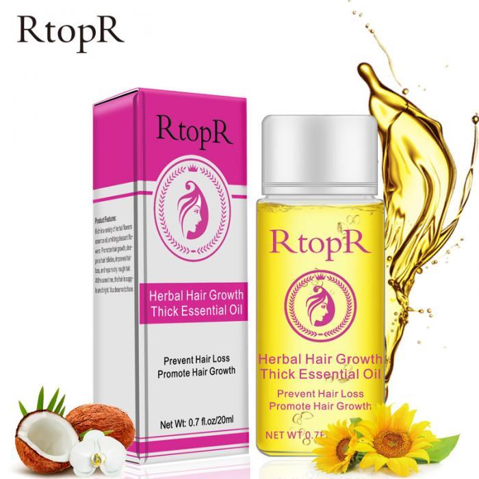 20ml Hair Growth Thick Essential Oil Hair Loss Scalp Care Treatment Herb Hair Care Repair Bright Essential Oil  for Men Women