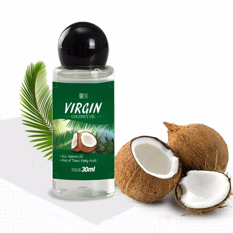 3PCS VIRGIN Coconut Oil Extract Cold Pressed Natural Healthy Oil for Aromatherapy Hair&Skin Care /Makeup Remover/Body Message