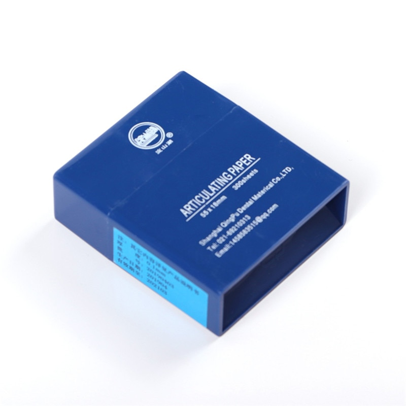 300 Sheets Dental Dentista Articulating Paper Blue Strips Dental Lab Products Oral Dentist Teeth Care Whitening Material Tool