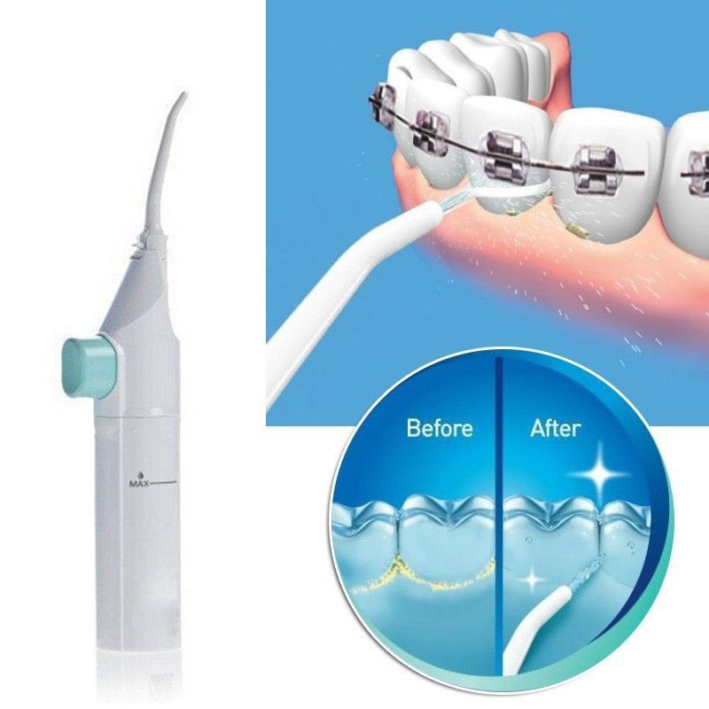 Portable Dental Floss Irrigator Water Flosser Oral Care Teeth Cleaning Dental Flosser Hygiene OralIrrigator Water Pick Jet