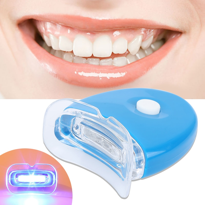 1Pc LED Light Teeth Whitening Tooth Gel Whitener Bright White Teeth for Personal Dental Treatment Health Oral Care Dentist TSLM2