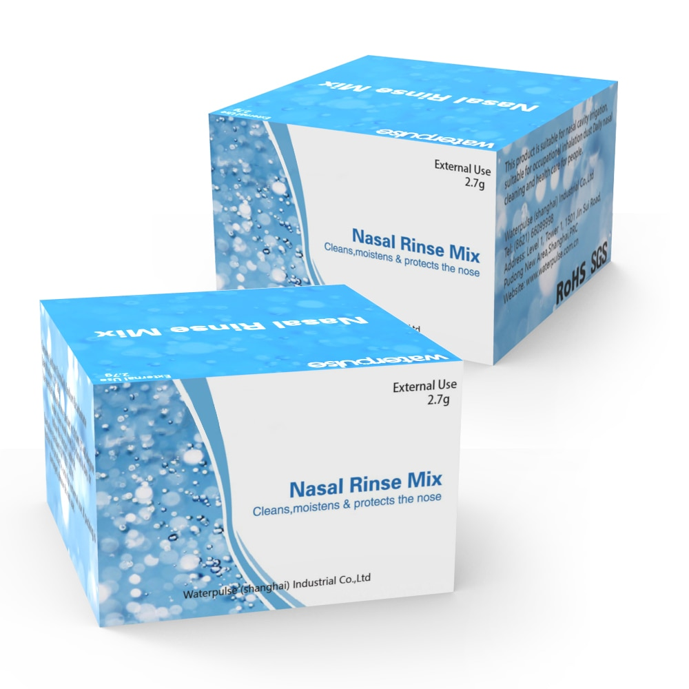 2.7g*30pcs/box Nasal Wash Salt Rinse Allergic Rhinitis Relief Nose Cavity Protector Irrigation for Adults Children Nose Cleaner