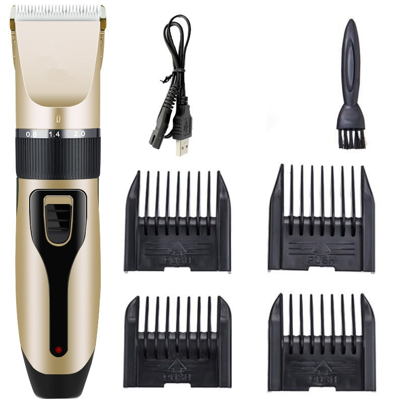 USB Rechargeable Professional Pet Dog Hair Trimmer Animal Grooming Cat Hair Clipper Hair Machine  Electrical Trimmer For Pets
