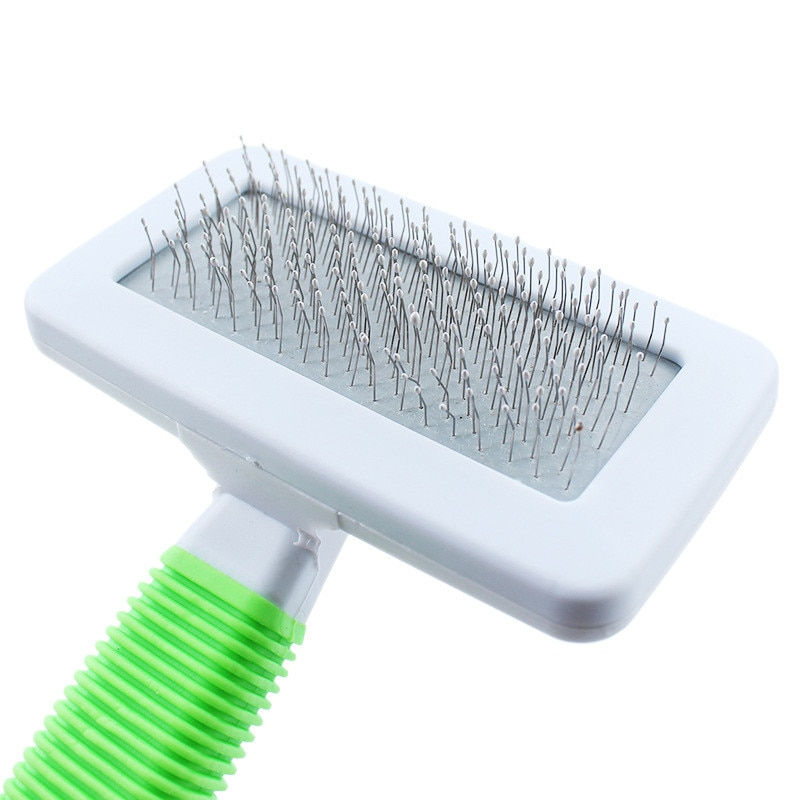 Pet Dog Hair Removal Combs Pet Puppy Dog Cat Hair Shedding Grooming Trimmer Fur Comb Brush Slicker Tool Non-slip New Sale*5
