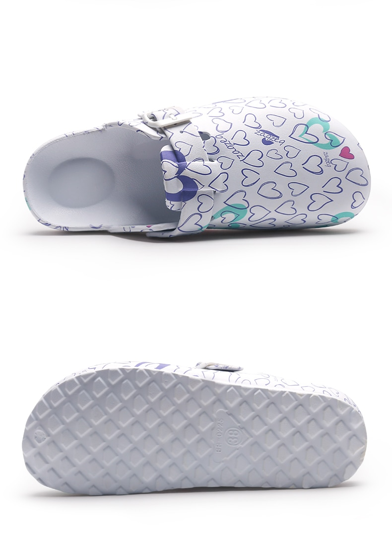 Women's Medical Multiprinted Slippers