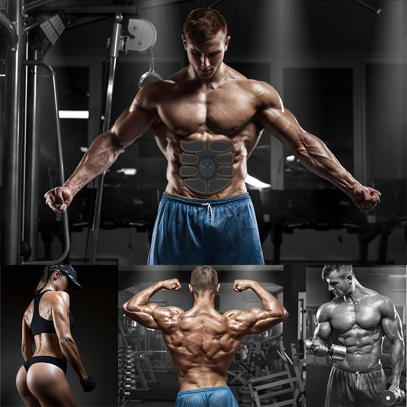 Electric Muscle Training Machine Fitness Gym Equipment Abdominal Muscle Trainer Arm Body Slimming Fat Burning Muscle Stimulator8