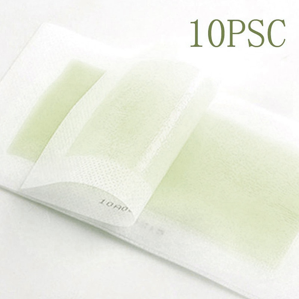 Depilatory paste 10PCS Face Nonwoven Waxing Tools Wax Papers Depilatory Strips Hair Removal hair hair removal wax paper Depilato