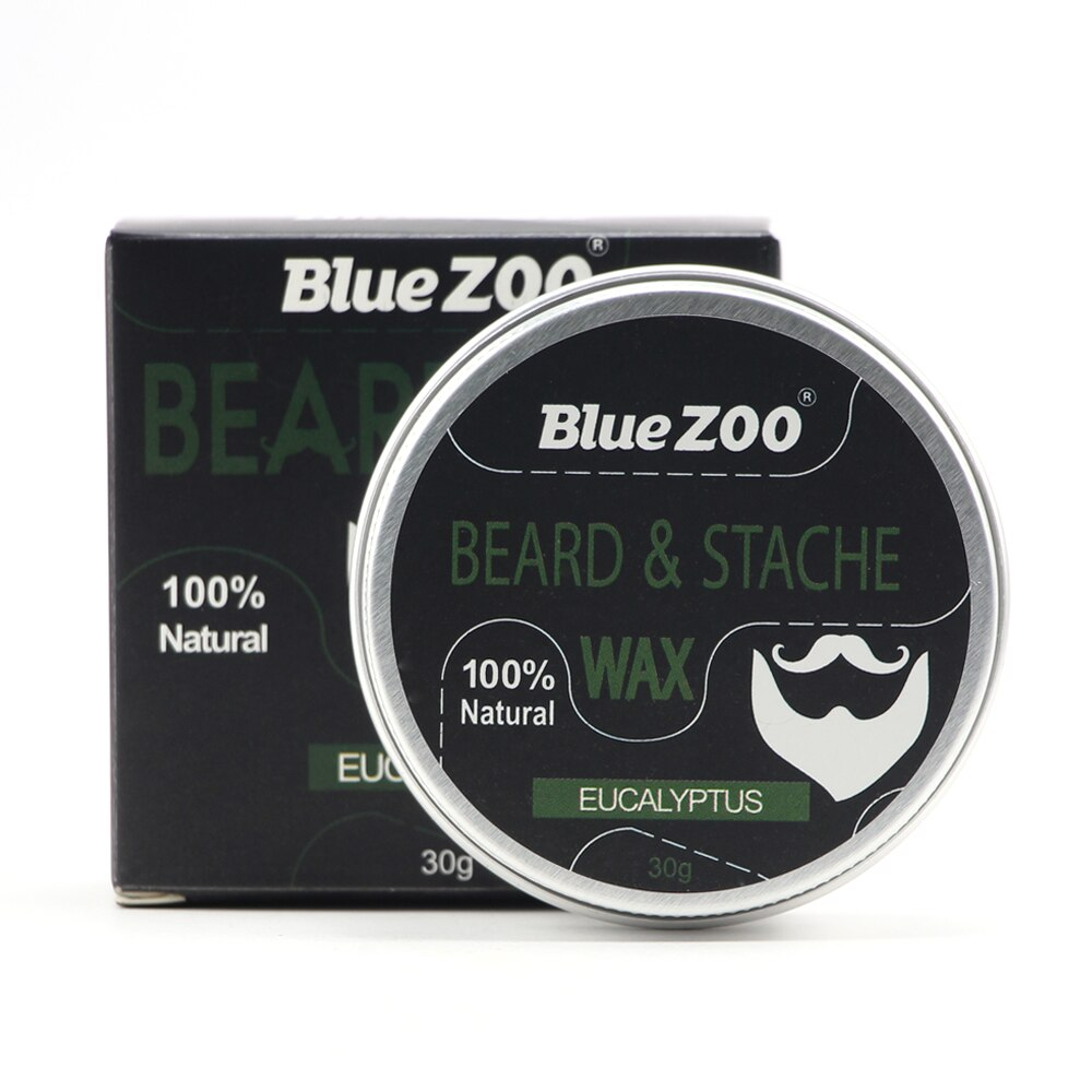 New 4 Types Natural Beard Growth Conditioner Balm Organic Moustache Conditioner Beard Wax for Caring Smooth Styling TSLM1