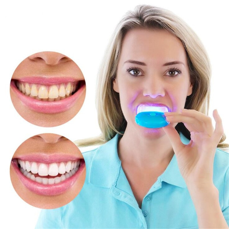 1Pc LED Light Teeth Whitening Tooth Gel Whitener Bright White Teeth for Personal Dental Treatment Health Oral Care