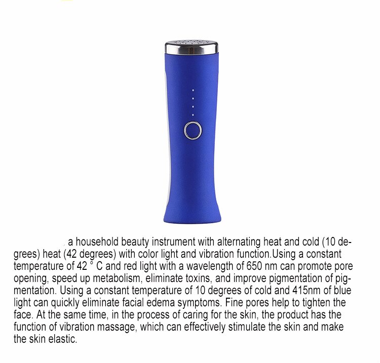 Homeuse small beauty machine photon blue light therapy anti-wrinkle skin whitening eye beauty personal care instrument