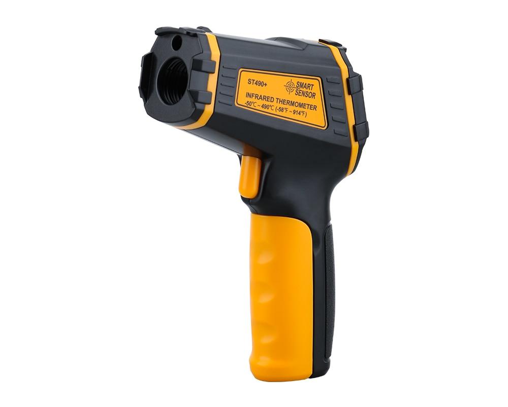 Digital Non Contact Infrared Thermometer IR Aquarium Color LCD Display Laser Gun Pyrometer High Accuracy Temperature Tester