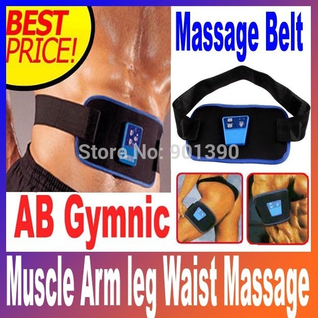 Dropshipping Health Care Slimming Body Massage belt AB Gymnic device Electronic Muscle Arm leg Waist neck Massager back Belt