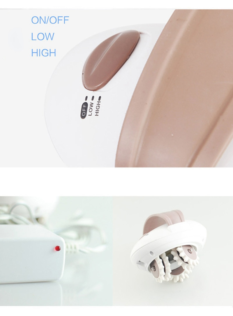 3D Loss Weight Electric Full Body Massager Roller Anti-cellulite Massaging Slimmer Device Health Care Cellulite Control Machine