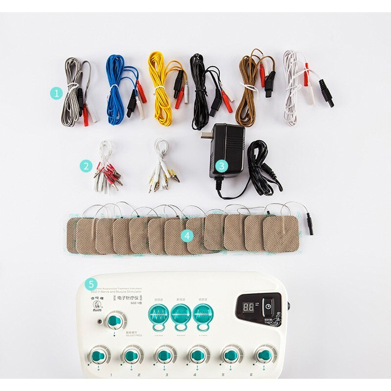 Household home massage Device SDZ Upgrade pulse frequency instrument Multi-Purpose health apparatus
