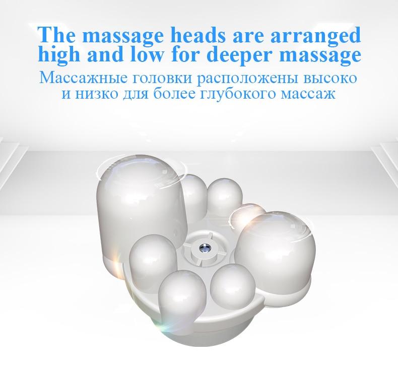 JinKaiRui U Shape Electrical Shiatsu Body Shoulder Neck Massager Back Infrared 4D kneading Massage Car Home Best Gift HealthCare