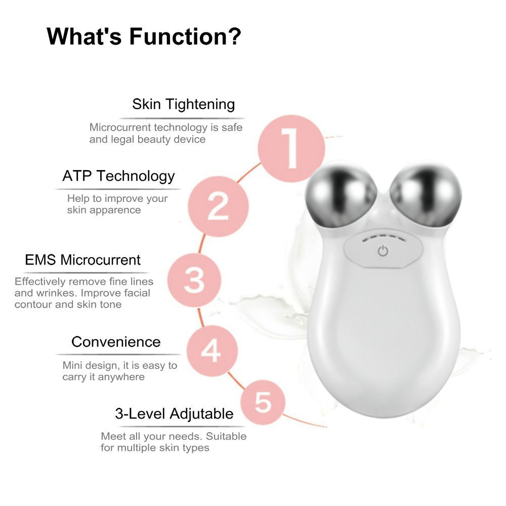 Facial Massager For Face Massager Face Lifting Microcurrent Roller Massager Facial Microcurrent Device Massage Face Lift Machine