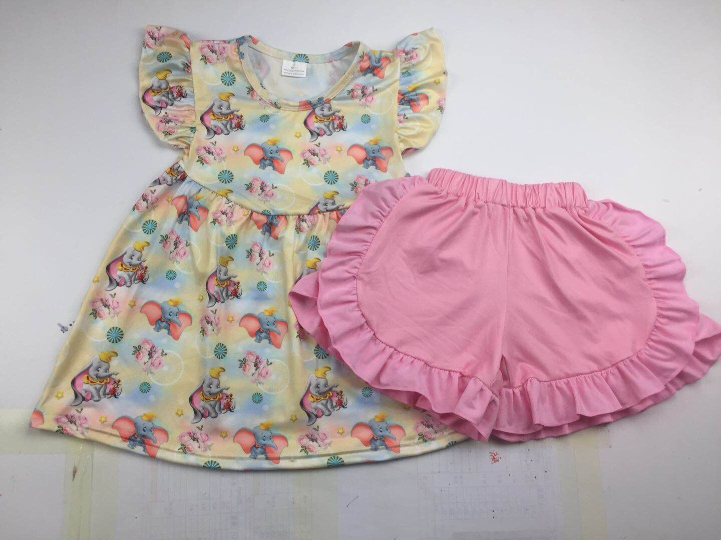 Children clothing sets kids clothes baby girls' outfits with watermelon prints