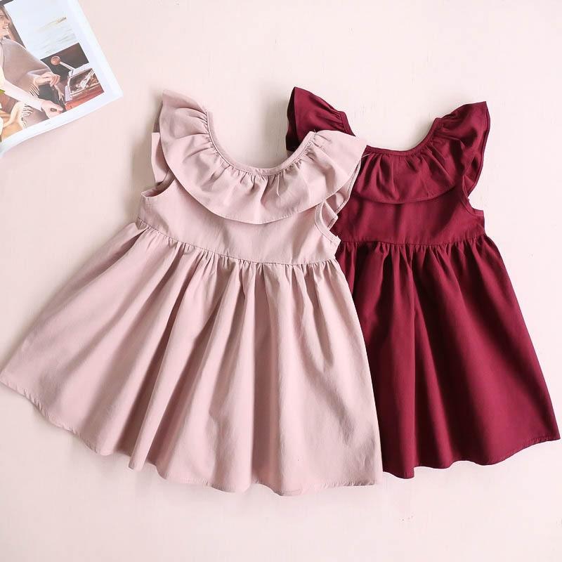 2020 New Summer Girls' Dress Baby Suspenders Pettiskirt Net  Party Princess Dress Children's Kids Girls Clothing