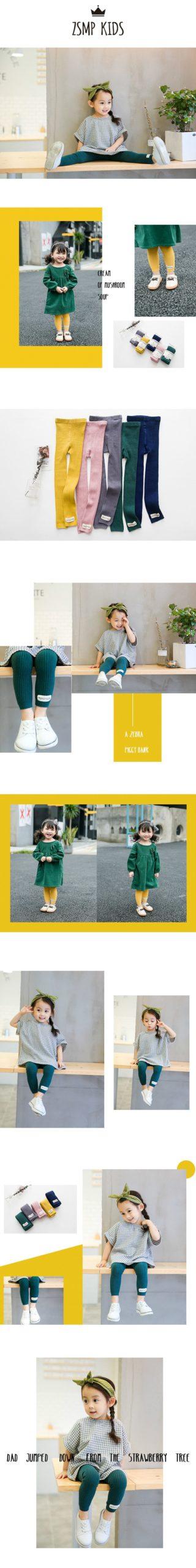 2017 Baby Girls Kids Leggings Autumn Winter Cute Warm Girls' Trousers Children's Clothing Pants