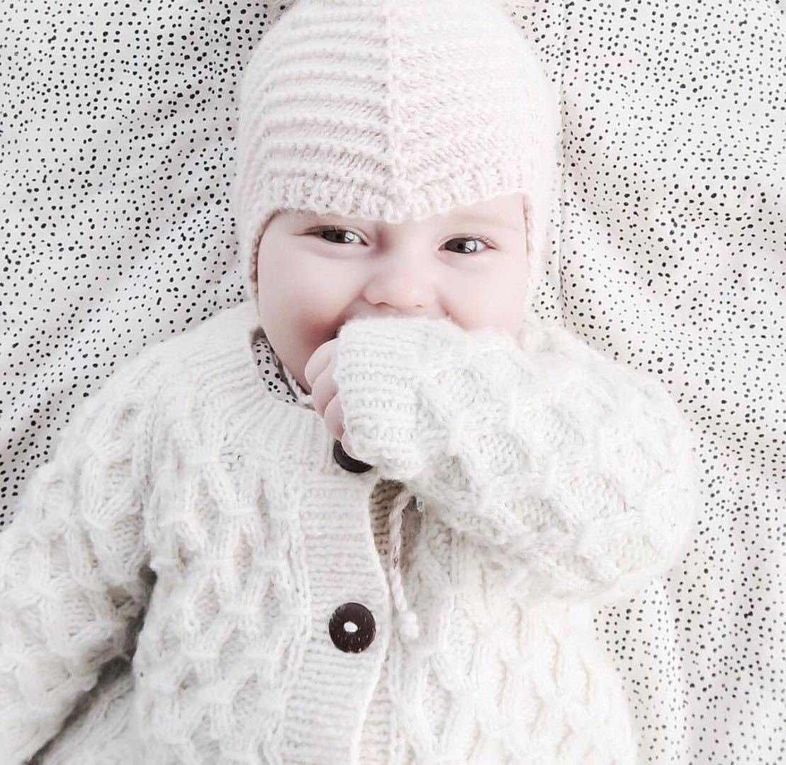 Baby Girls Clothes Spring Baby knitted Romper Set Infant Newborn Baby Girl Cardigan Boys Sweater Cotton Baby Jumpsuit For Girls