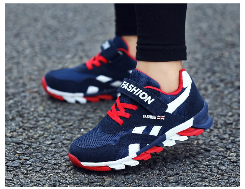 2020 Spring Autumn Children Shoes Fashion Brand Sports Boys Shoes Casual Kids Sneaker Outdoor Training Breathable Boy Shoes