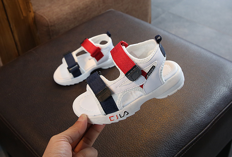 Summer Sandals Girls Leather Shoes 2019 Fashion Toddler Boys Beach Sandals Colorful Children Baby Shoes Kids Sandals For Boys