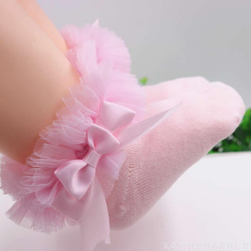 Light pink big lace