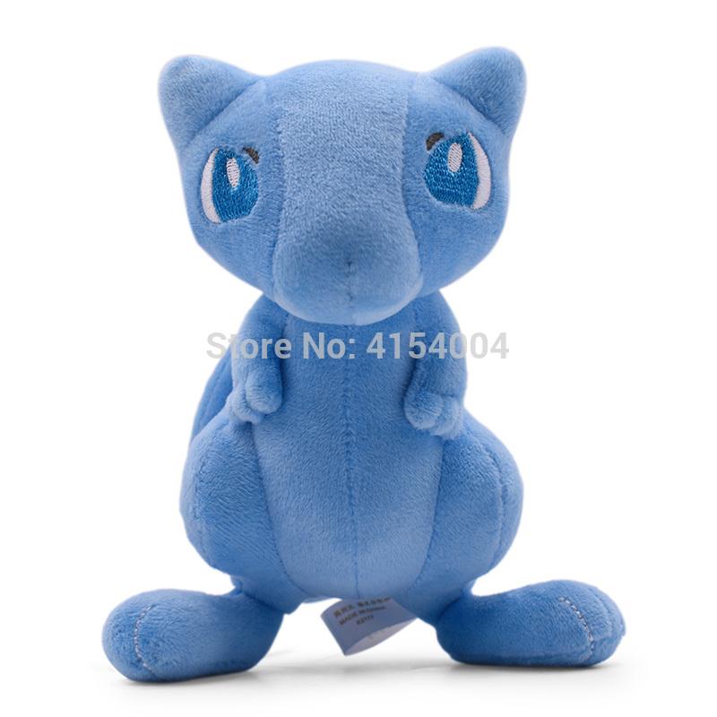 18 cm Anime Shiny Mew Stuffed Plush Cartoon Peluche Dolls Christmas Gift Baby Toys For Children