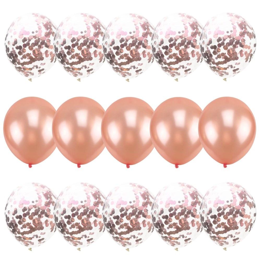 15pcs rose confetti