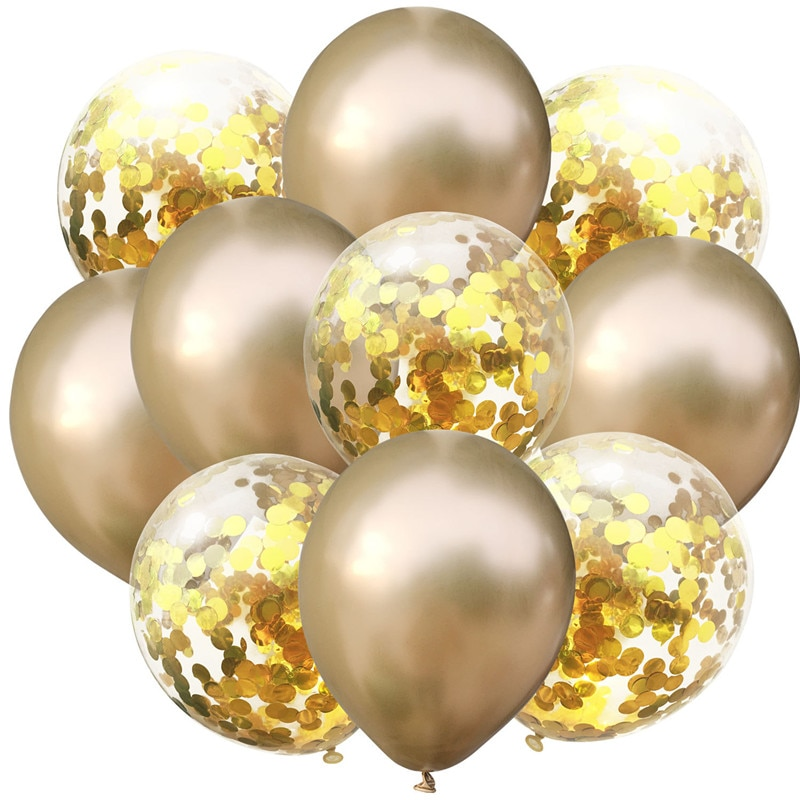 10pcs Gold