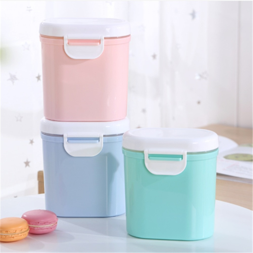 Baby Milk Powder Container Box Melkpoeder Container Food Storage Box Multilayer Infants Free shipping Feeding Food Storage Boxs