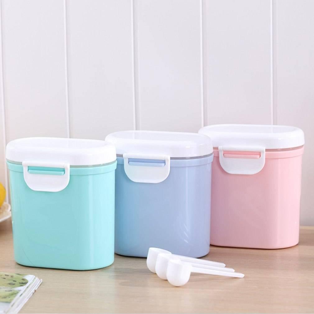 Baby Food Storage Milk powder Storage Formula Dispenser Travel Sealed Container Baby food Tank Snack Box PP Plastic
