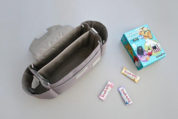 Universal 2018 Baby Strollers Organizer Bag Carriage Pram Cart feeding Bottle Diaper mom Bag Newborn Nappy Storage Bag Mummy bag