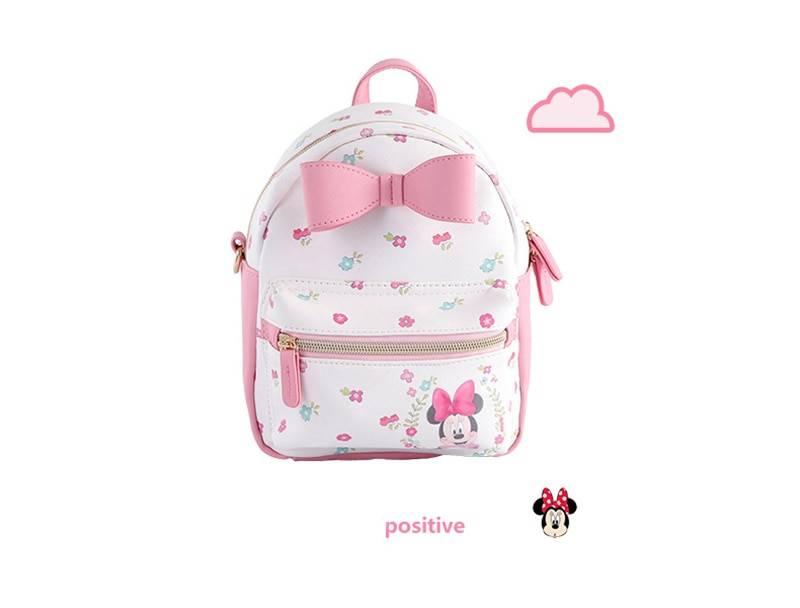 Genuine Disney 3PCS/SET Bags Women Backpack Mummy Minnie Feeding Travel Diaper Bag Waterproof Diaper Bags