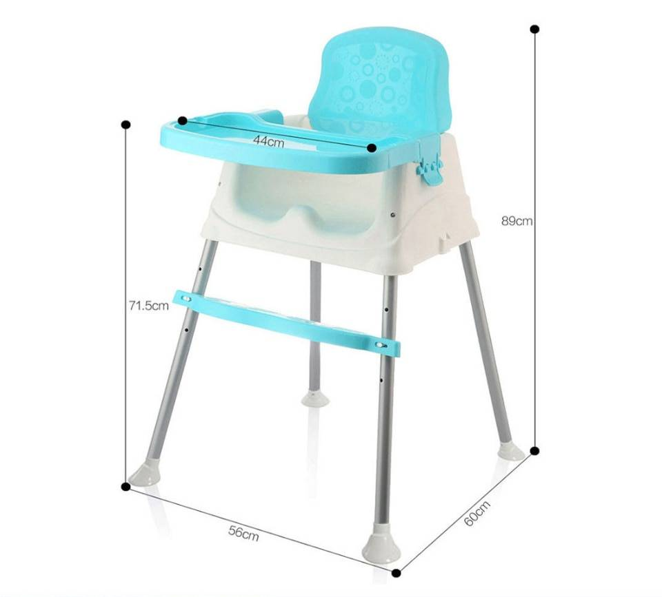 IMBABY Baby Dinner Table Detachable Feeding Chair Portable Chair Adjustable Folding Chairs Kids Highchair Seat Baby Eating Seats