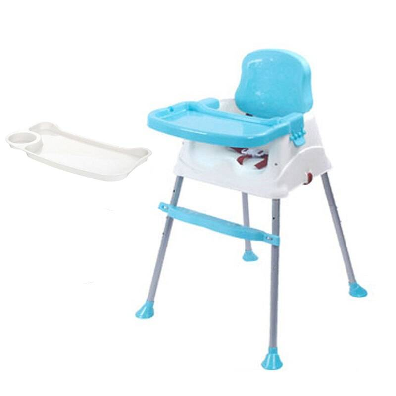 Blue Chair with Tray