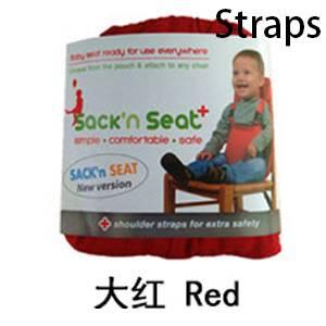 Red-shoulder belt
