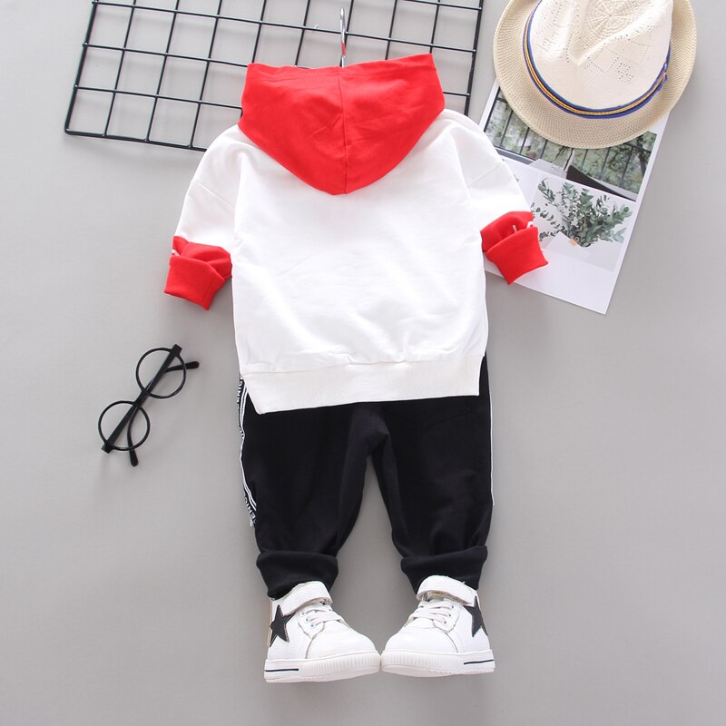 Spring Toddler Cotton Clothes Fashion 2020 Children Girls Boys Sport Hooded Jacket Pants 2pcs/Sets Baby Casual Kids Tracksuits