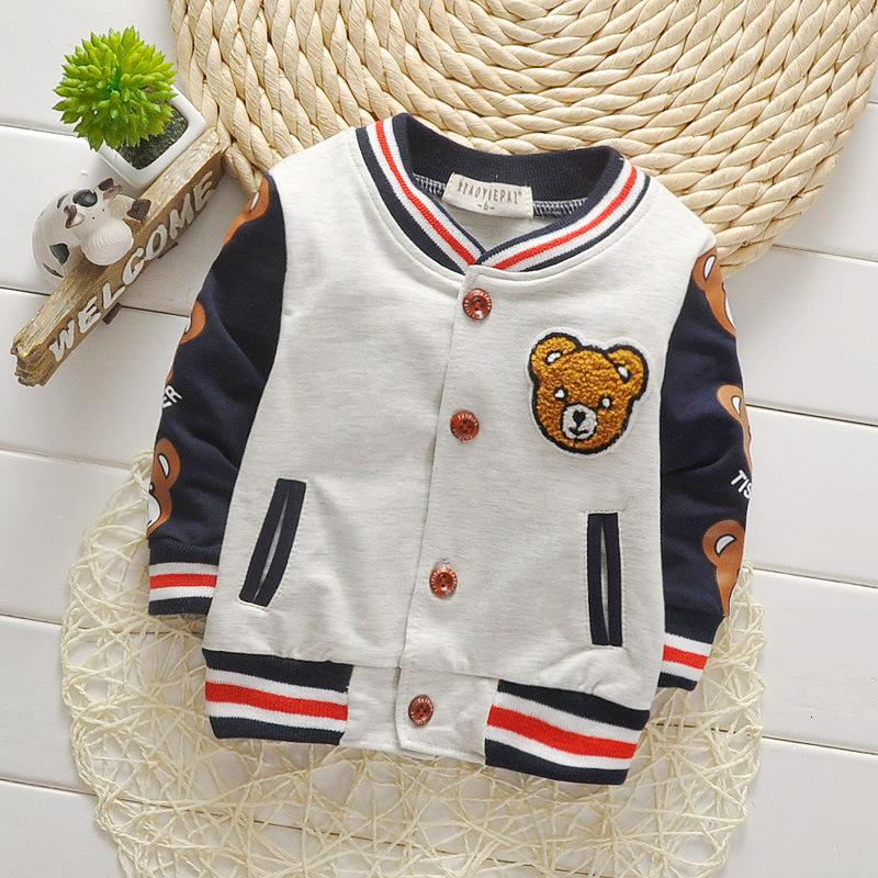 Children Girls Clothes Kids Baseball Infant Sweatershirt Toddler Fashion Brand Jacket 2020 Spring Autumn Baby Outwear Boys Coat