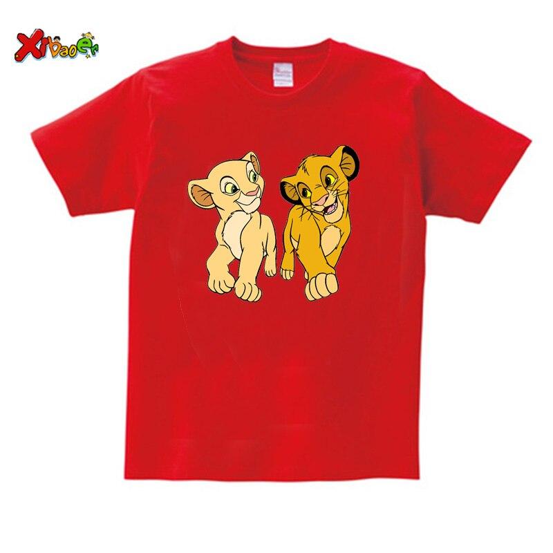kids t shirt red