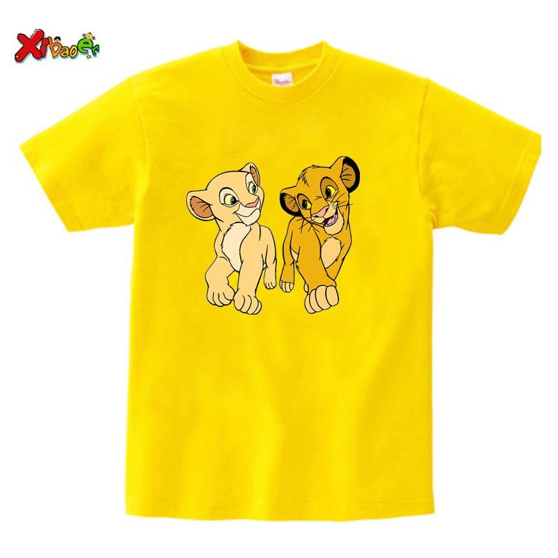 kids t shirt yellow