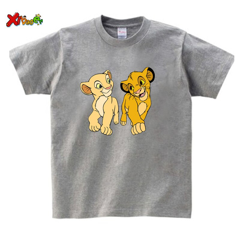 kids t shirt gray