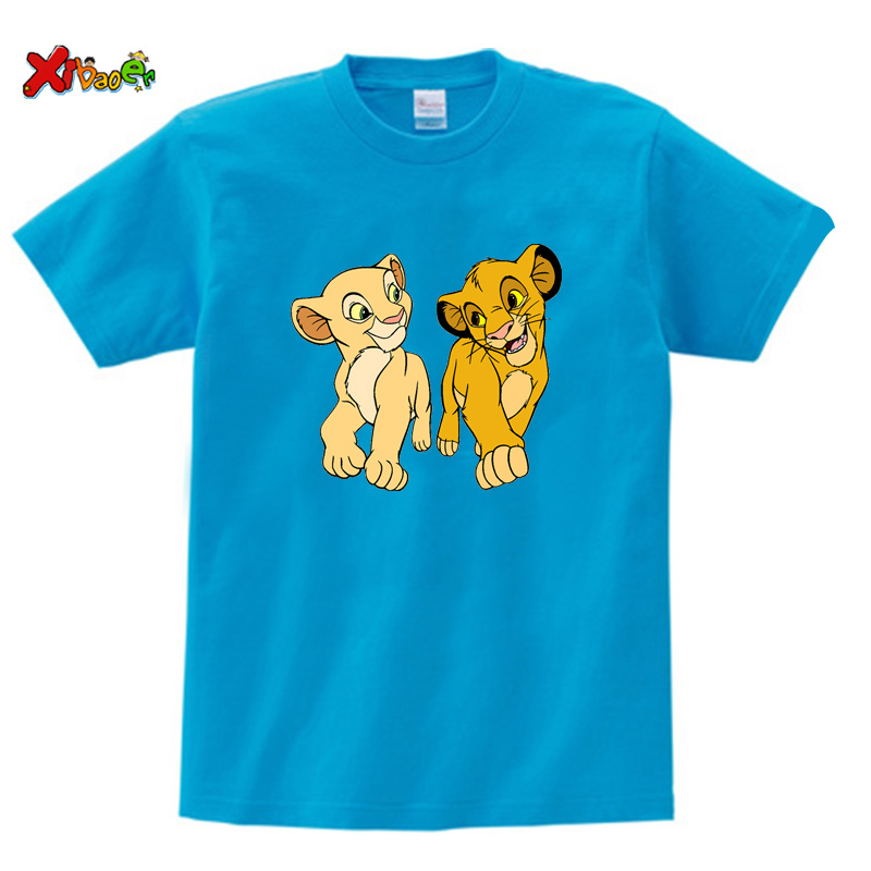kids t shirt blue